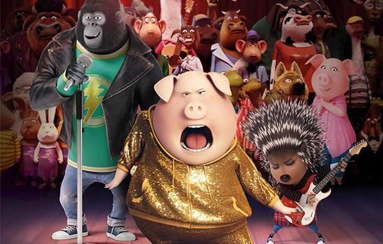 """小黄人团队""""打造动画喜剧电影 动物版""""好声音""""今上映"""
